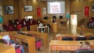 Viranşehir'de belediye personeline ilk yardım semineri