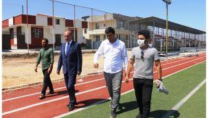 Akçakale'de 400 kişilik spor tesisi yapılıyor