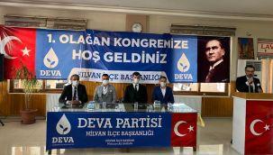 Deva Partisi Hilvan İlçe Kongresi Gerçekleşti
