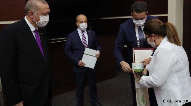 Cumhurbaşkanı Erdoğan'ın ilk kez duyduğu Urfa Lezzeti