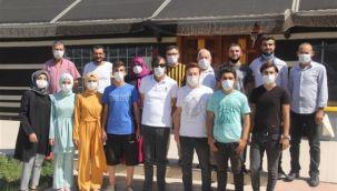 Eyyübiye'de öğrenciler belediye ile üniversiteli oldu
