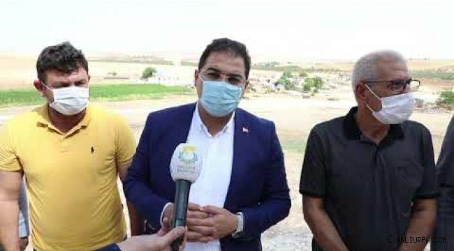 Haliliye'de kırsal mahalle iç yollar tamamlanıyor