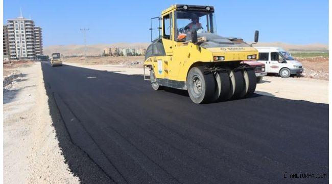 Karşıyaka Dağ eteği bölgesine sıcak asfalt