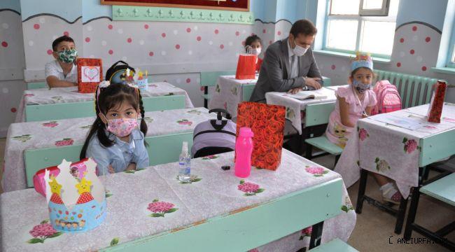 Yüz Yüze Eğitim İlk Ders Zili Çaldı