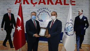 AK Partili Akçakale'ye övgü: Hayran kaldım