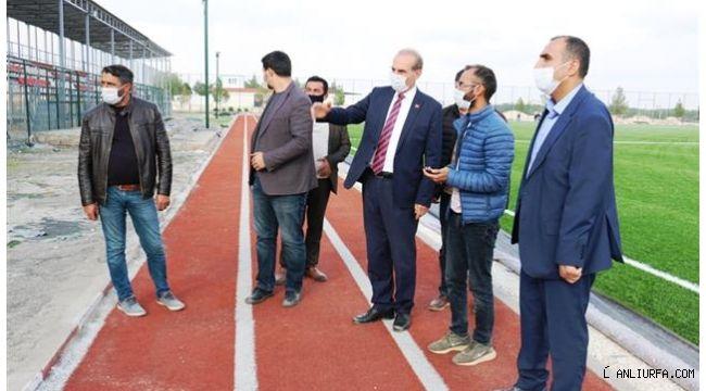 Akçakale'ye yeni spor tesisi
