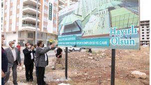 Başkan Canpolat söz verdiği projeleri tek tek hayata geçiriyor