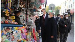 Başkan Kuş ve Moğal, esnaf ve vatandaşlarla buluştu