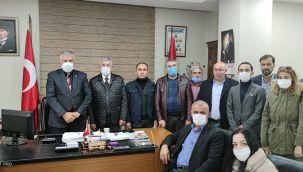 Gelecek Partisinden Belediye İş Sendikasına Ziyaret