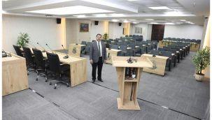 Haliliye'nin yeni meclis salonu hazır
