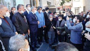 Hurdacı esnafı Büyükşehir'den mutlu ayrıldı