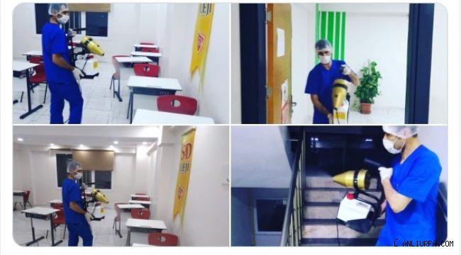 YSD Kolejinde temizlik ön planda
