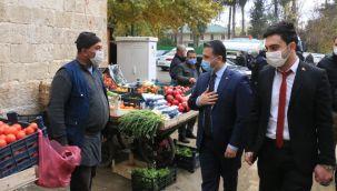 Başkan Yıldız'dan Birecik'te Esnaf, Vatandaş, STK Ziyareti