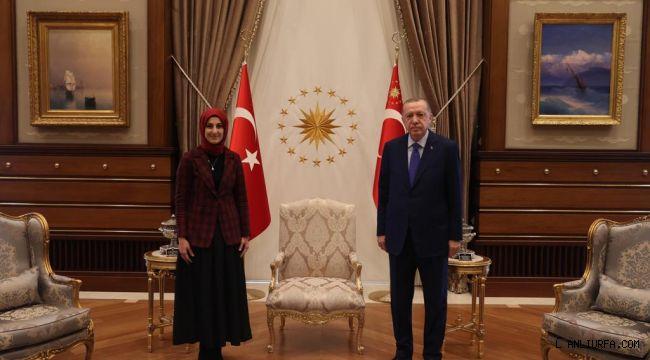 Gülpınar, Yıldız ve Çakmak Cumhurbaşkanı ile görüştü