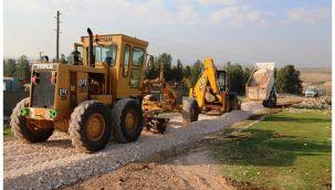 Haliliye Belediyesi Kırsal'da Yeni Yolları Hizmete Sunuyor