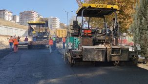 Şanlıurfa Büyükşehir ürettiği asfaltı yollarla buluşturuyor