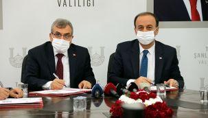 Urfa'da yaptırılacak 8 fabrika için protokol imzalandı
