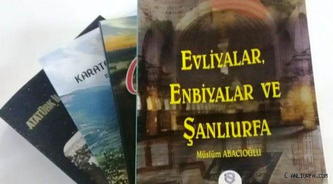 Abacıoğlu'nun Evliyalar, Enbiyalar ve Şanlıurfa Kitabı çıktı