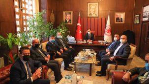 Başkan Albayrak, Halfeti için Ankara'da