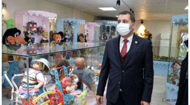 Başkan Baydilli çocukları oyuncak müzesine davet etti