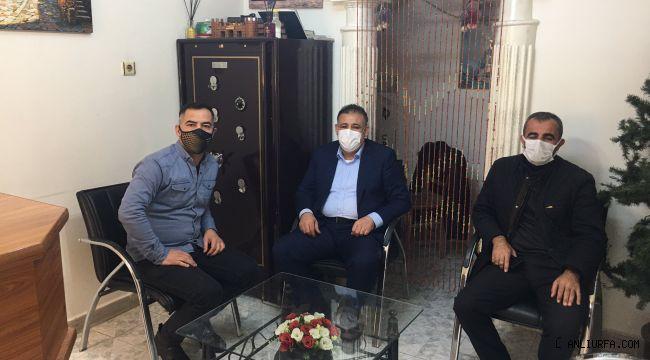 Başkan Şimşek'ten esnafa ziyaret