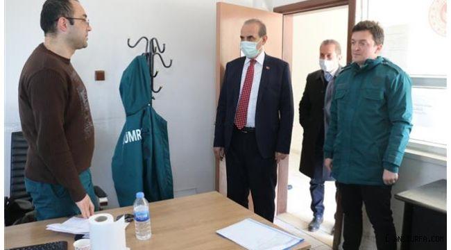 Başkan Yalçınkaya, Gümrük Personellerini Ziyaret Etti
