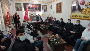 Gelecek Partisi Urfa'da Muhalefet Partilerini Ziyaret Ediyor!
