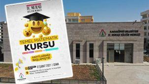 Karaköprü'de ücretsiz matematik kursu açılacak