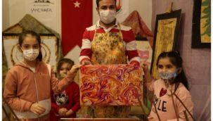 Sanat atölyesi ile çocuklar hayal gücünü geliştiriyor