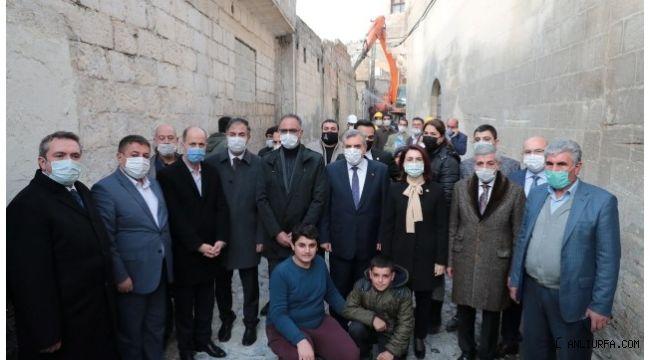 Şanlıurfa Büyükşehir 2.Etap Yıkım Çalışmalarına Başladı