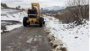 Şanlıurfa Büyükşehir, Karla Mücadelesini Sürdürüyor