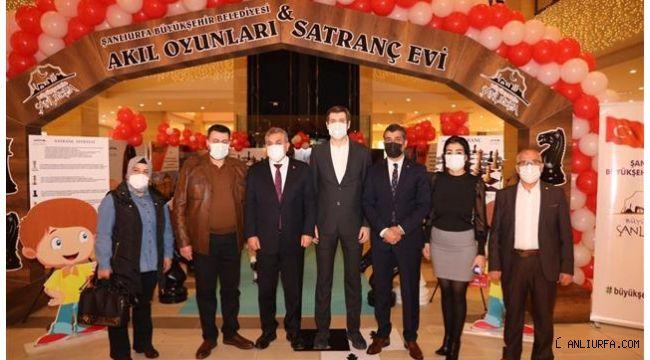 Şanlıurfa Büyükşehir, Satranç ve Akıl Oyunları Evi Açtı