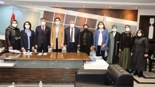 AK Partili Karaaslan'dan Beyazgül'e ziyaret