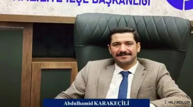 Başkan Karakeçili'den Regaip Kandili Mesajı