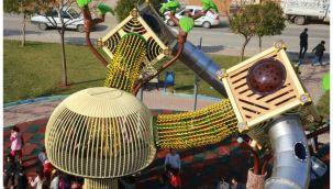 Eyyübiye'deki parklara temalı oyun grupları kuruluyor