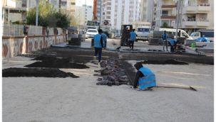Haliliye'den 5 mahallede yol çalışması