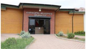 Karaköprü'de okuma salonları açıldı