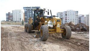 Karaköprü Doğukent'te yeni yollar yapılıyor