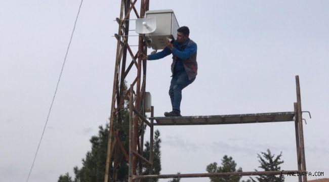 Viranşehir Belediyesi parklara kamera sistemi kuruluyor