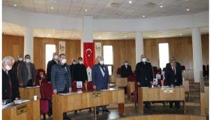 Viranşehir'de yılın ilk meclis toplantısı
