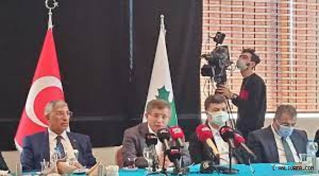 Ahmet Davutoğlu'nun Şanlıurfa temasları
