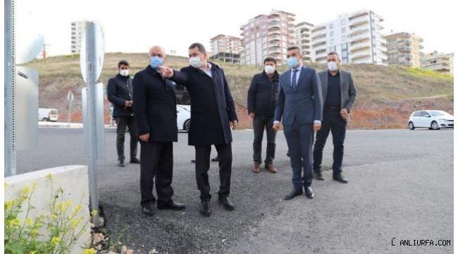 Başkan Baydilli Akbayır'da çalışmaları denetledi