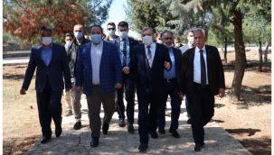Başkan Beyazgül Viranşehir'deki çalışmaları yerinde inceledi