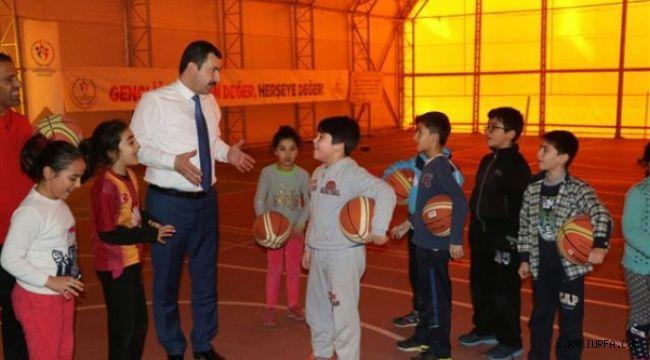 Geleceğin Sporcuları Karaköprü'de Yetişecek