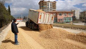 Karaköprü Atakent Mahallesi Yeni Yollarla Gelişiyor