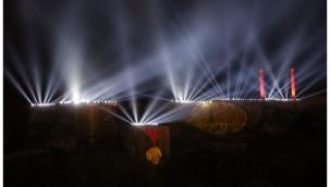 Şanlıurfa Kalesinde Muhteşem görsel şölen