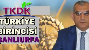Şanlıurfa TKDK Türkiye Birincisi Oldu