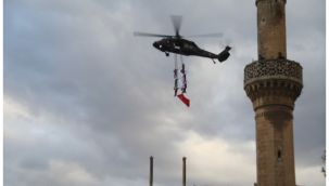 Urfa Balıklıgöl'de 'Üzüm Salkımı' gösterisi