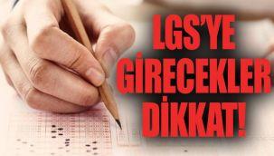 Aydınlar Eğitim Kurumlarından LGS'ye Girecek Öğrencilere Altın Değerinde Uyarılar!