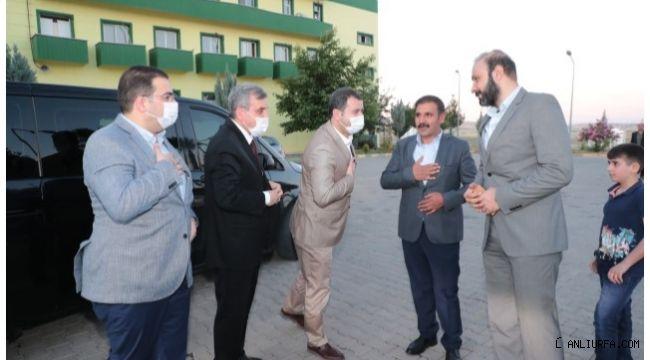 Başkan Beyazgül'den Urfaspor'a tebrik ziyareti